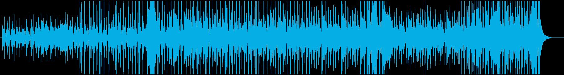 軽快でノリノリな小編成の楽しいジャズの再生済みの波形