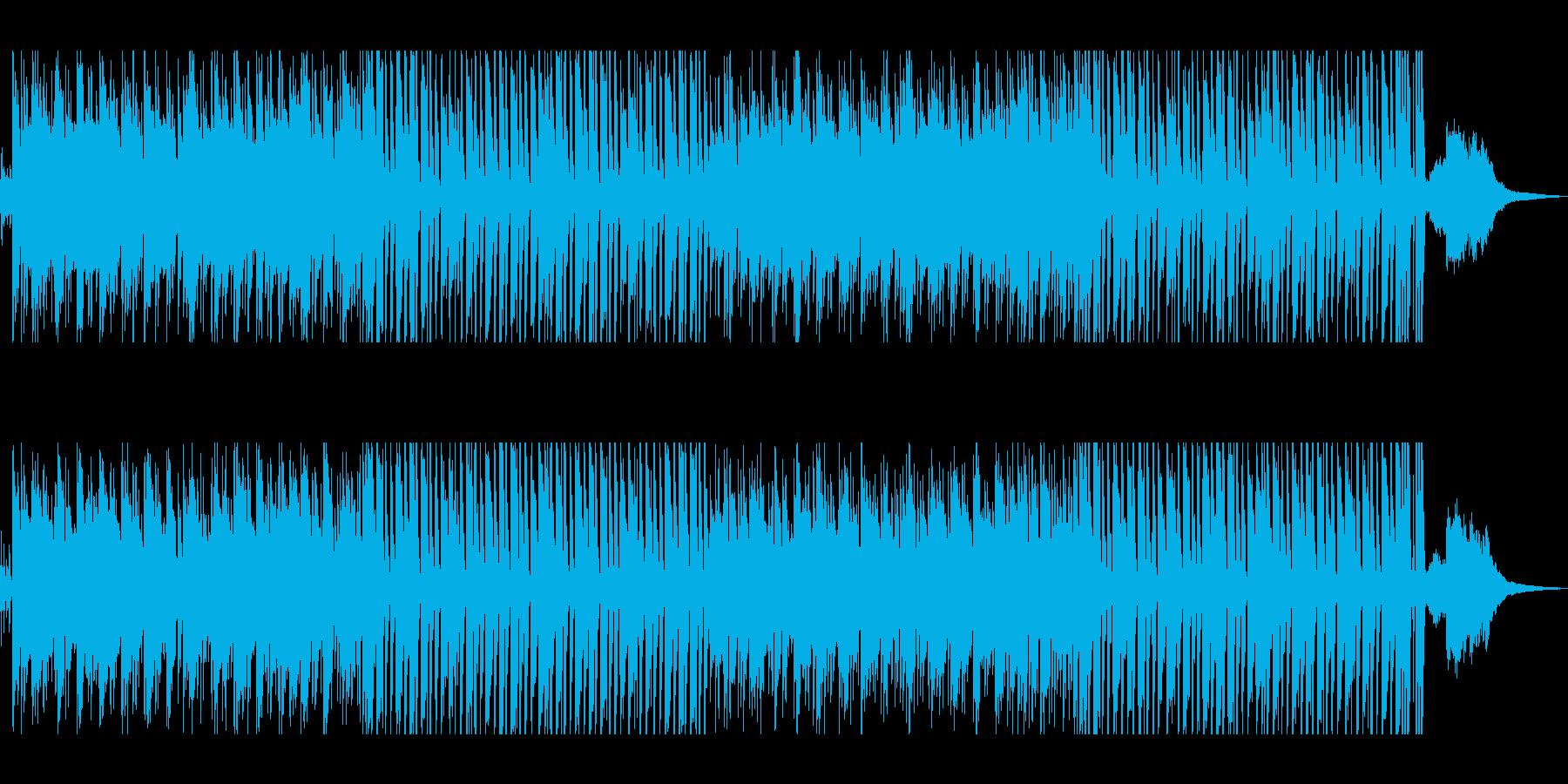 Jazzyでおしゃれなラウンジ風ボサノバの再生済みの波形