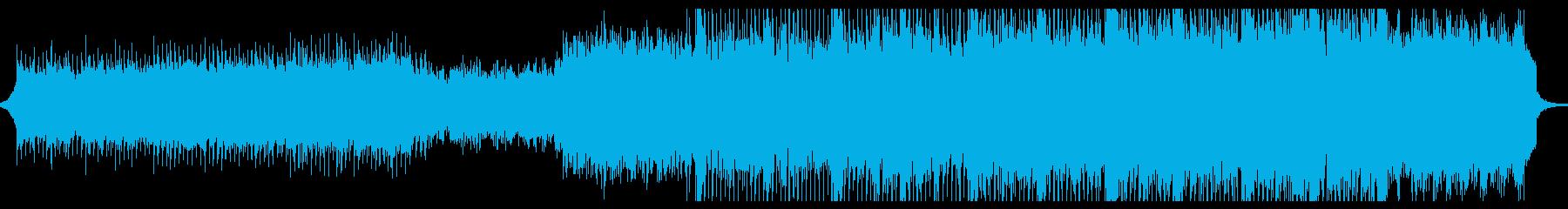 ポップロック アンビエントミュージ...の再生済みの波形