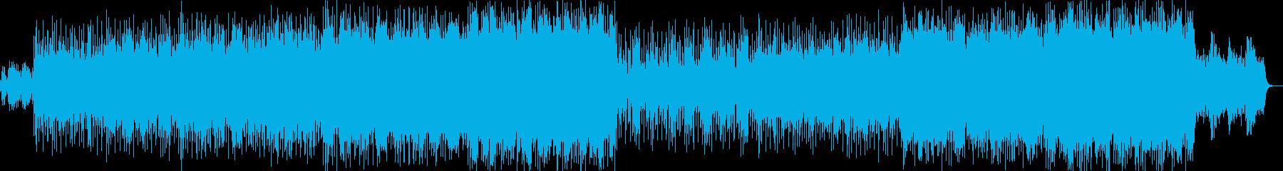 明るく爽やかなオーケストラポップ-01の再生済みの波形