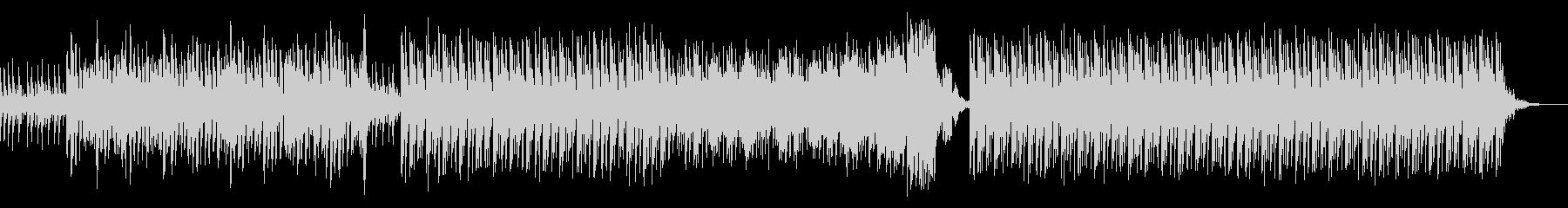 謎解きのピースがハマっていくような曲の未再生の波形