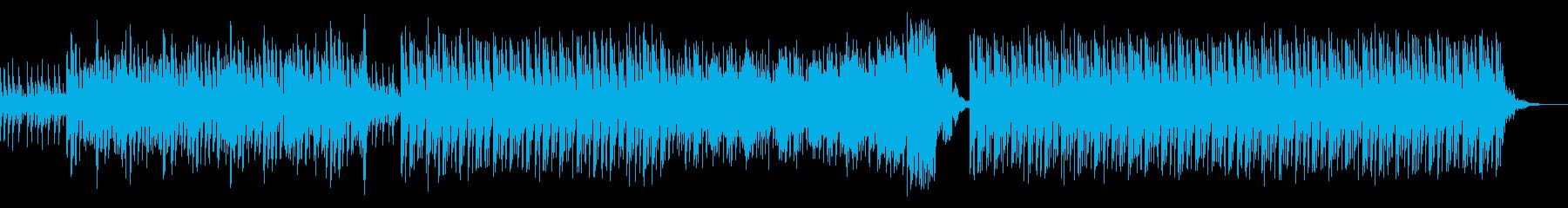 謎解きのピースがハマっていくような曲の再生済みの波形