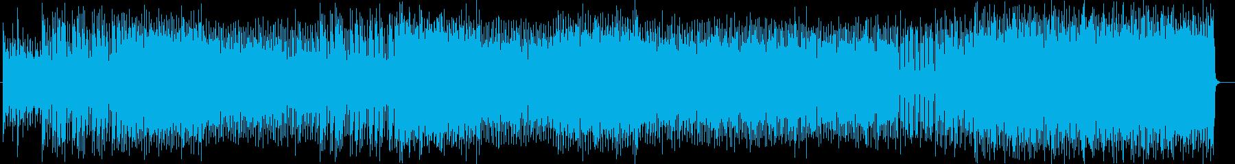 お洒落なシンセ系テクノEDMの再生済みの波形