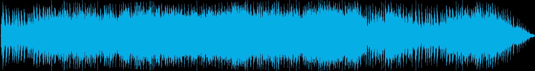 凛々しいオーケストラソングですの再生済みの波形
