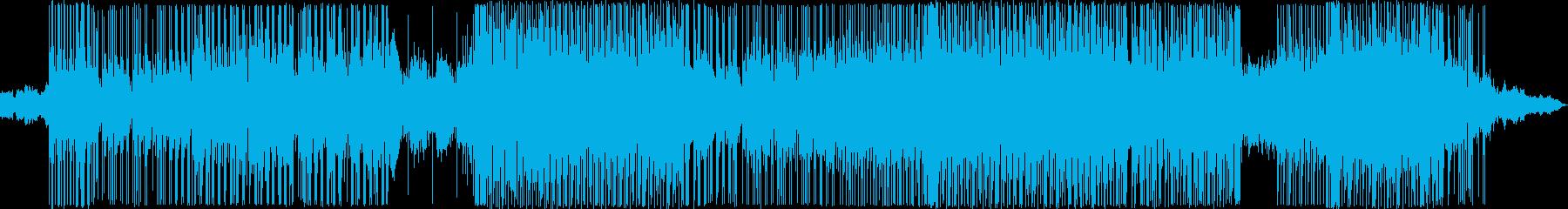ヒップホップ風のリズムのR&Bバラード6の再生済みの波形