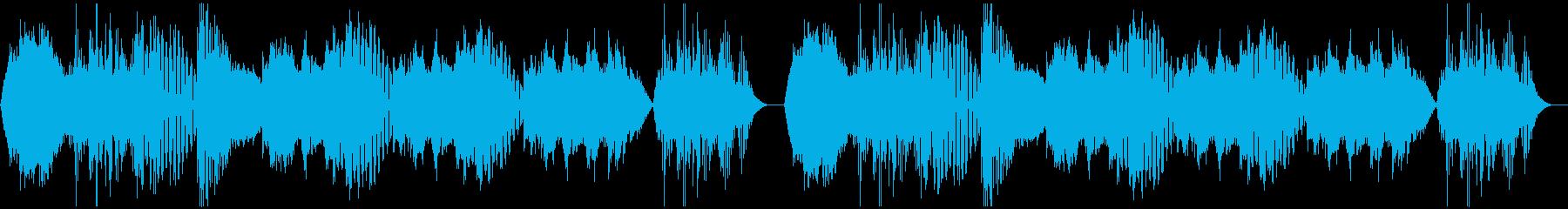 【ホラー/映画/アトラクションBGM】の再生済みの波形