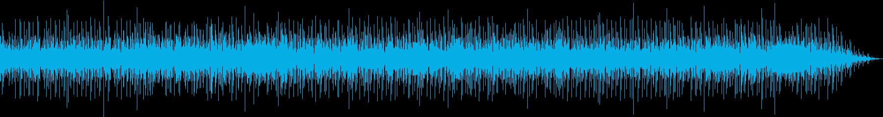 アップテンポな生演奏SAXソロの再生済みの波形