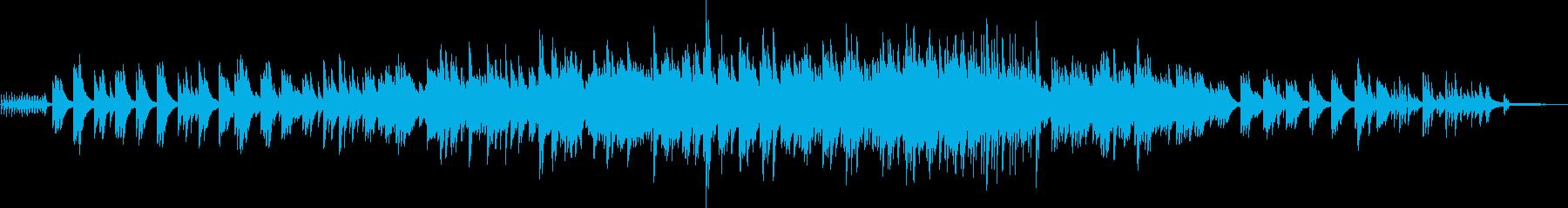 安心感のあるピアノ&シンセのアンサンブルの再生済みの波形