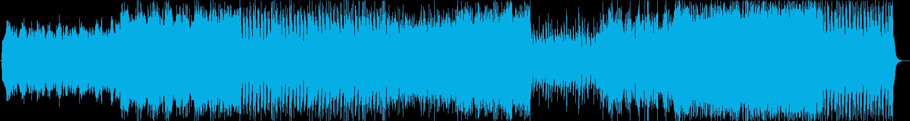 壮大なアクションシネマティックサウンドの再生済みの波形