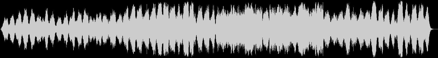 切ないピアノメインのクラシック風の未再生の波形