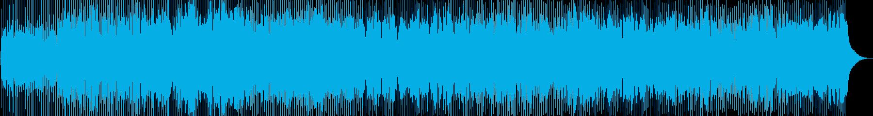 ワイルドスでトレートなフォークロックの再生済みの波形