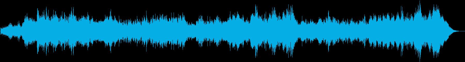 暗い心理スリラー-オープニングクレ...の再生済みの波形