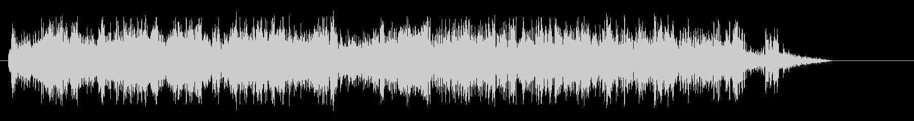 ジューイ↑(勢いのある効果音)の未再生の波形