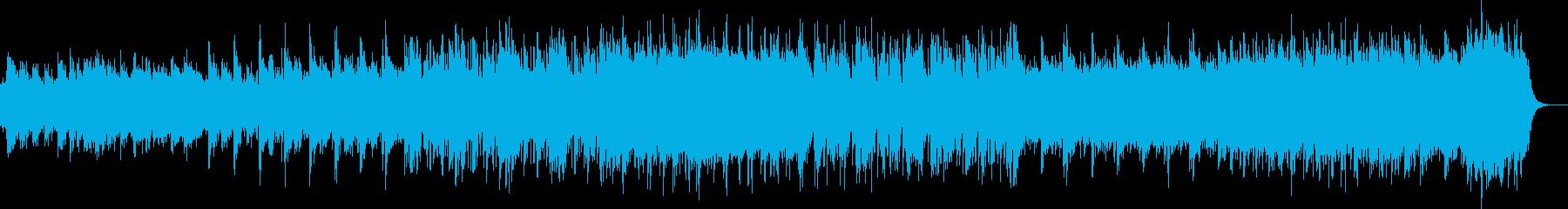 和太鼓とオーケストラ和風ドキュメンタリーの再生済みの波形