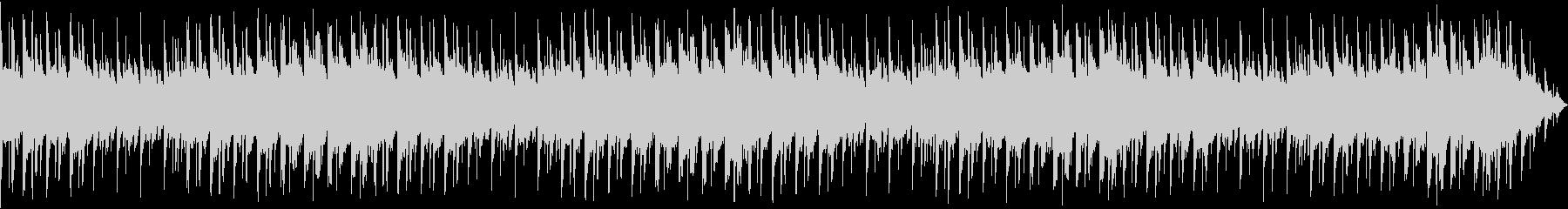 【主張しない背景音楽】ヒーリングの未再生の波形