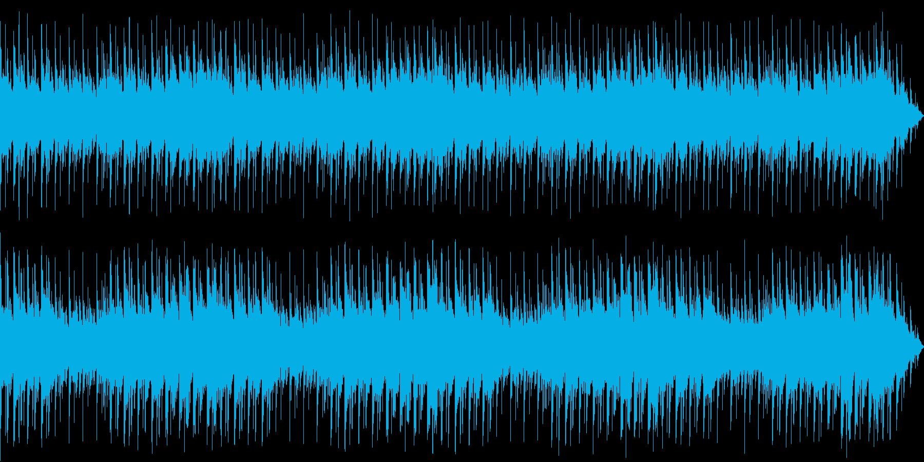 【主張しない背景音楽】ヒーリングの再生済みの波形