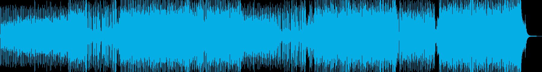 弾けるストリングス・爽快なEDM Bの再生済みの波形