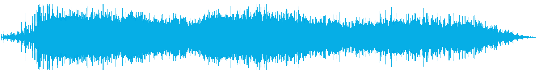 Applause at the start of the event's reproduced waveform