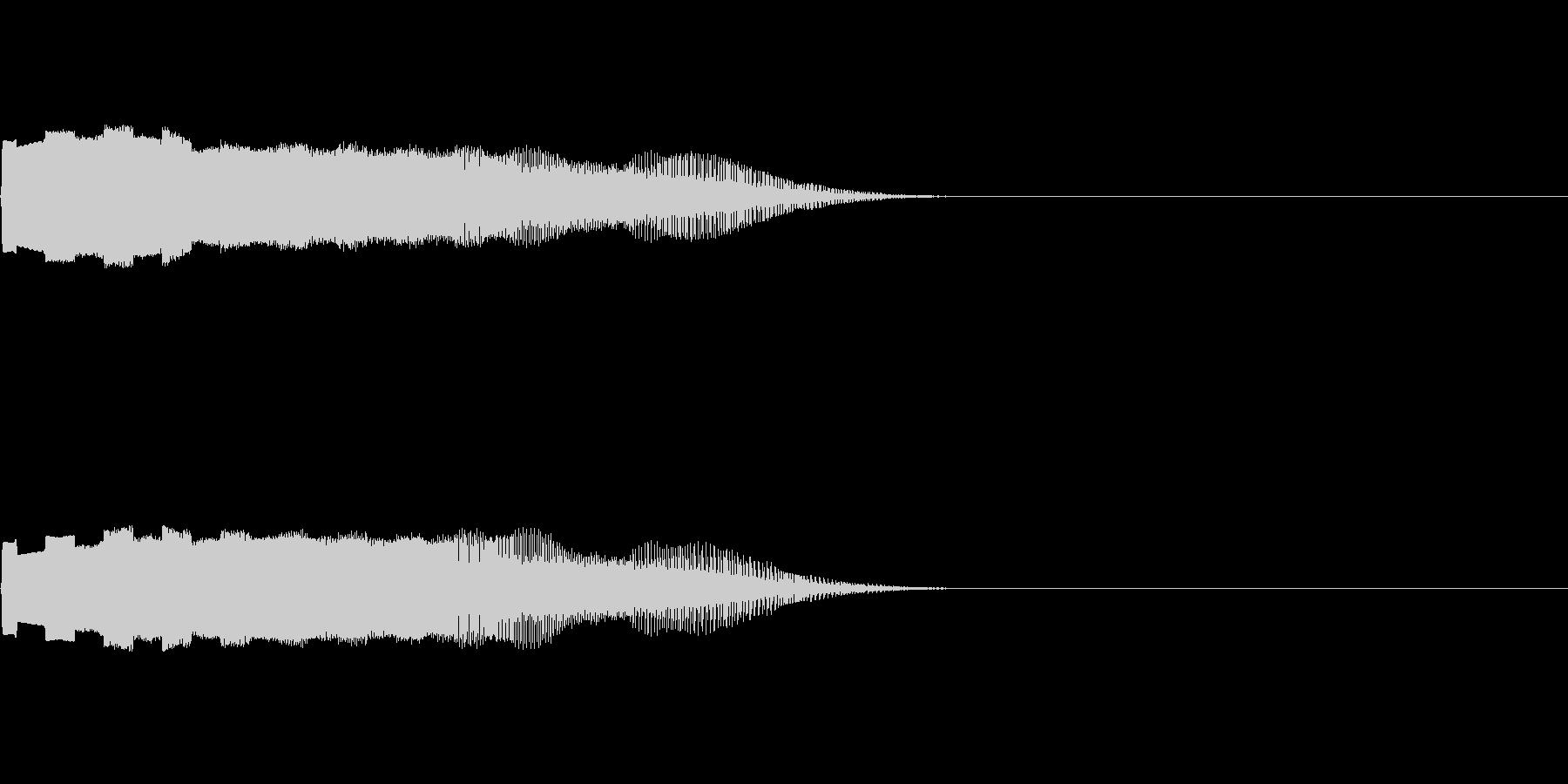 ゲームや動画での落下音の未再生の波形