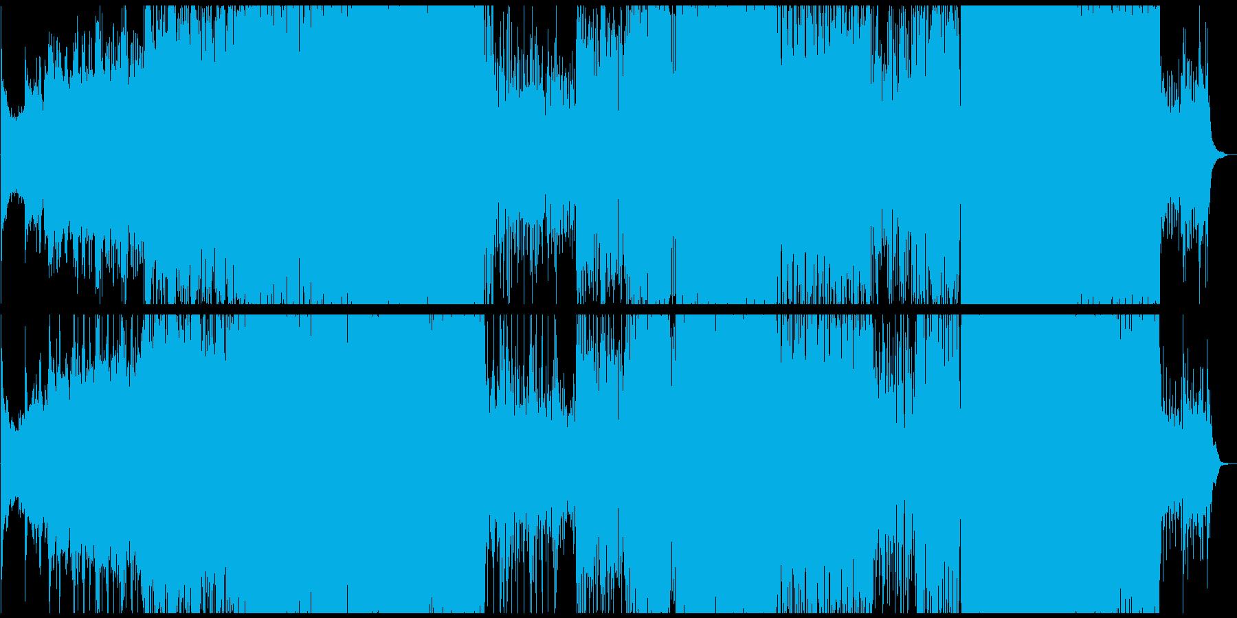 映像制作 感情 宇宙 深海 時空 幻覚の再生済みの波形