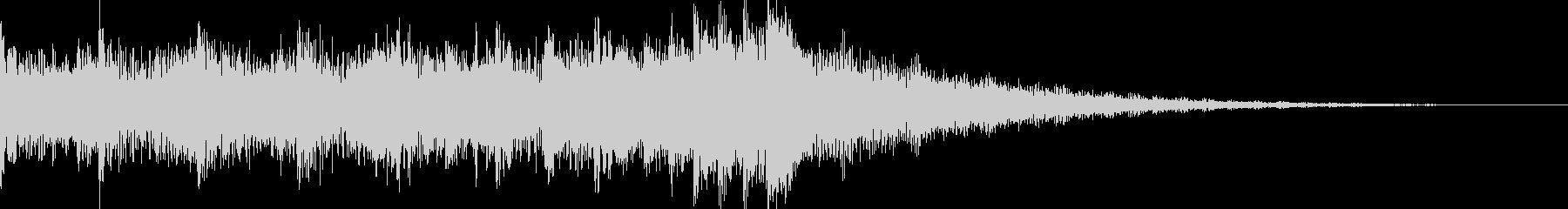 シリアスなシーンに合うEDMジングルの未再生の波形