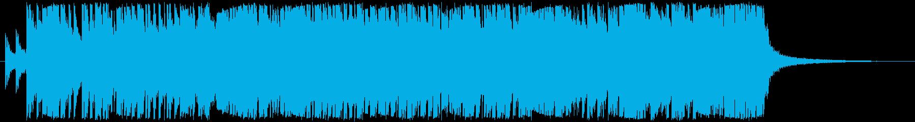 三味線メタル、力強い、疾走感、掛け声入りの再生済みの波形