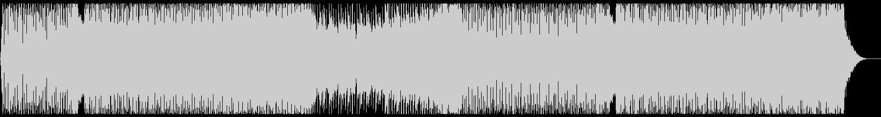 前向きでパワフルなエレクトロEDM2の未再生の波形