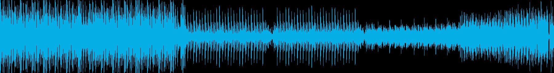 和風・EDM・爽やか・明るいの再生済みの波形