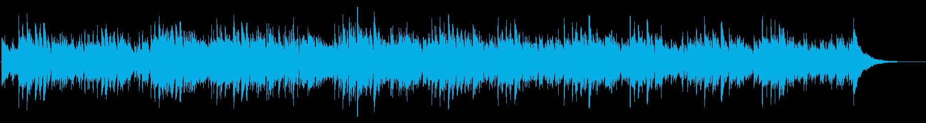 アコギ生演奏 爽やかな風を感じるの再生済みの波形