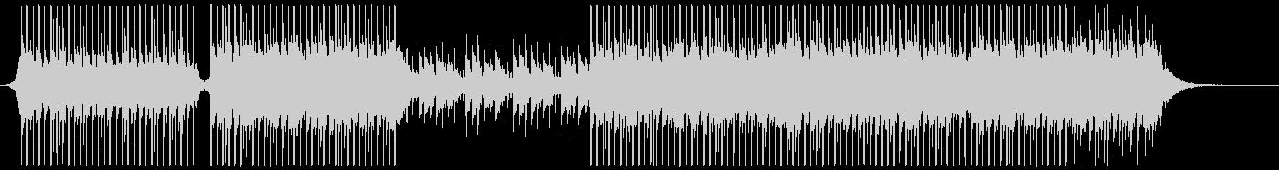 ピアノ、ドラムを使った、の未再生の波形