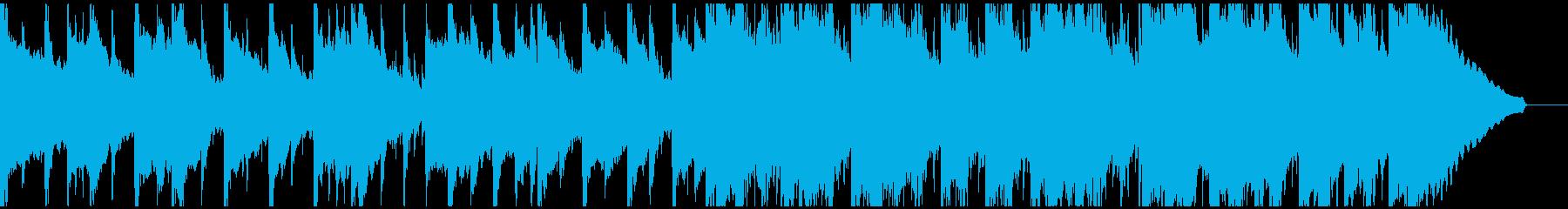 ゆったりとしたアコギ、トランペット曲ですの再生済みの波形