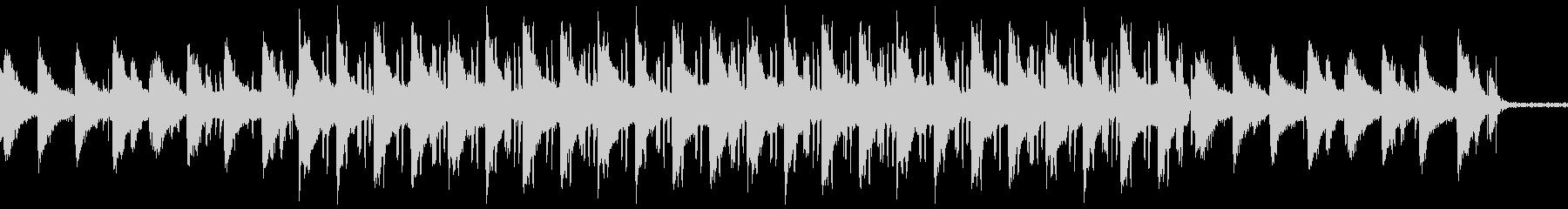 ローファイヒップホップ 環境音はカフェの未再生の波形