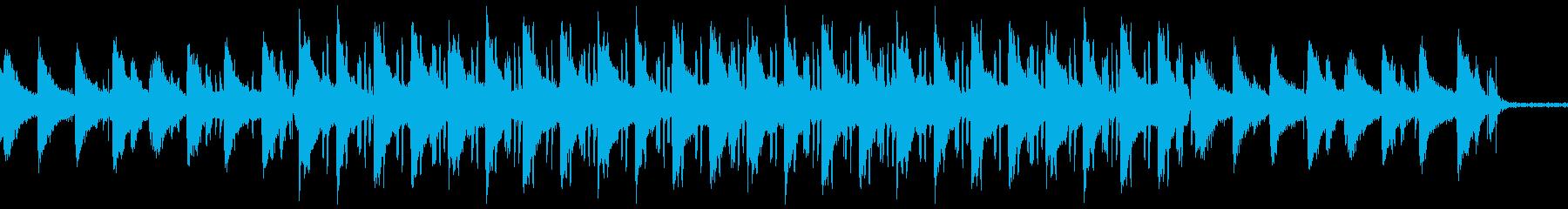 ローファイヒップホップ 環境音はカフェの再生済みの波形