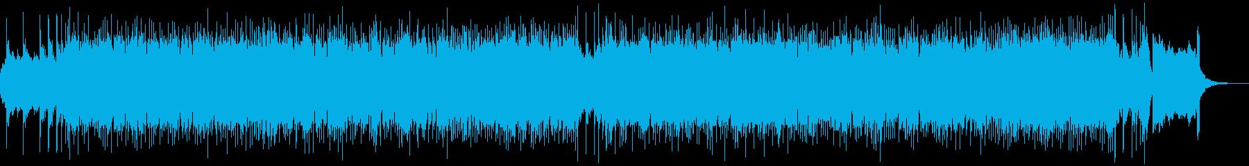 【YouTube】ハプニング!?なロックの再生済みの波形