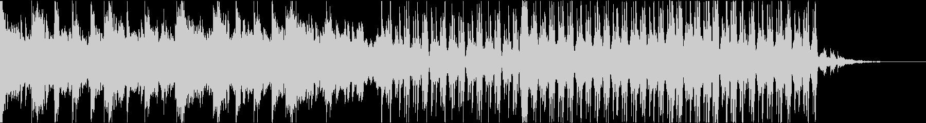ダークで綺麗なEDMの未再生の波形