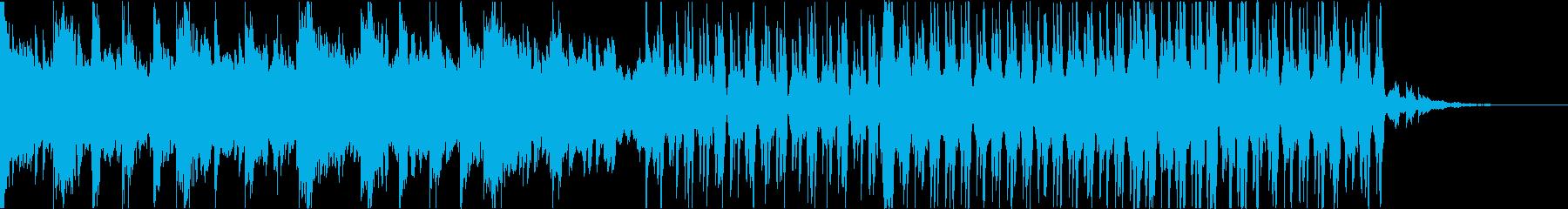 ダークで綺麗なEDMの再生済みの波形