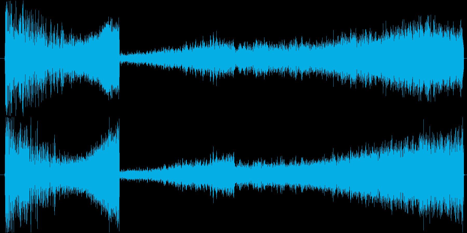 衝撃 リバーサー01の再生済みの波形
