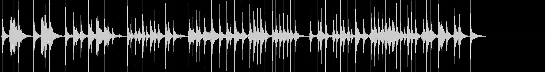 三味線28娘道成寺7日本式レビューショーの未再生の波形
