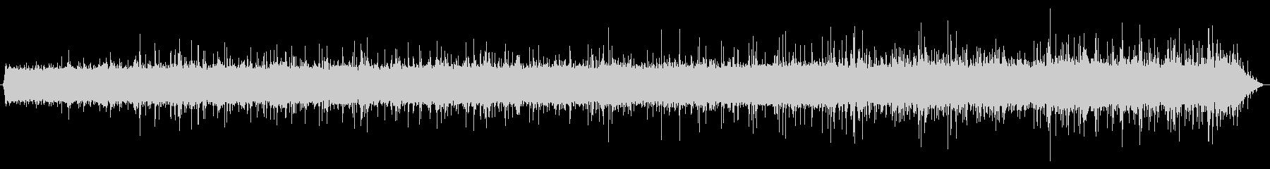 雨の音02(軒下)の未再生の波形