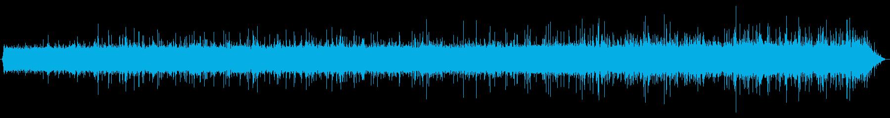 雨の音02(軒下)の再生済みの波形