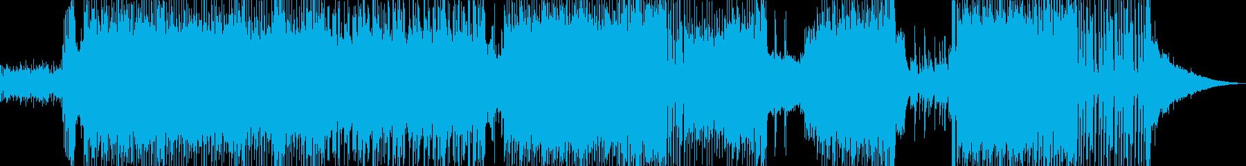 ハッピーな演出を彩るテクノポップ L2の再生済みの波形