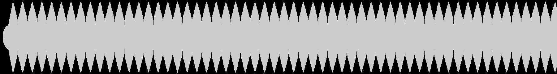 ゲージ増減 得点などの集計 ティィィィ…の未再生の波形