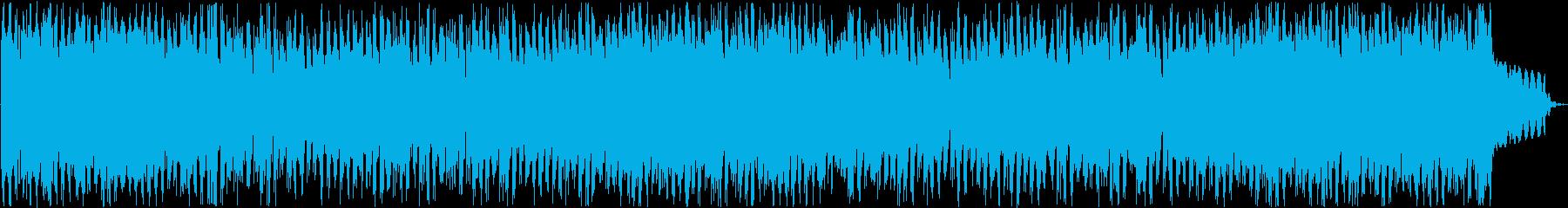 爽やかな日常を表現するようなBGMの再生済みの波形
