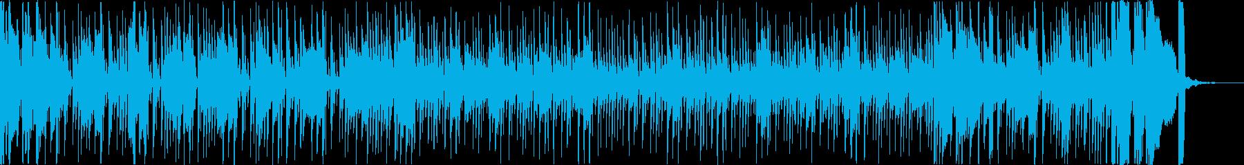 忙しい、明るいファンク。スラップベ...の再生済みの波形