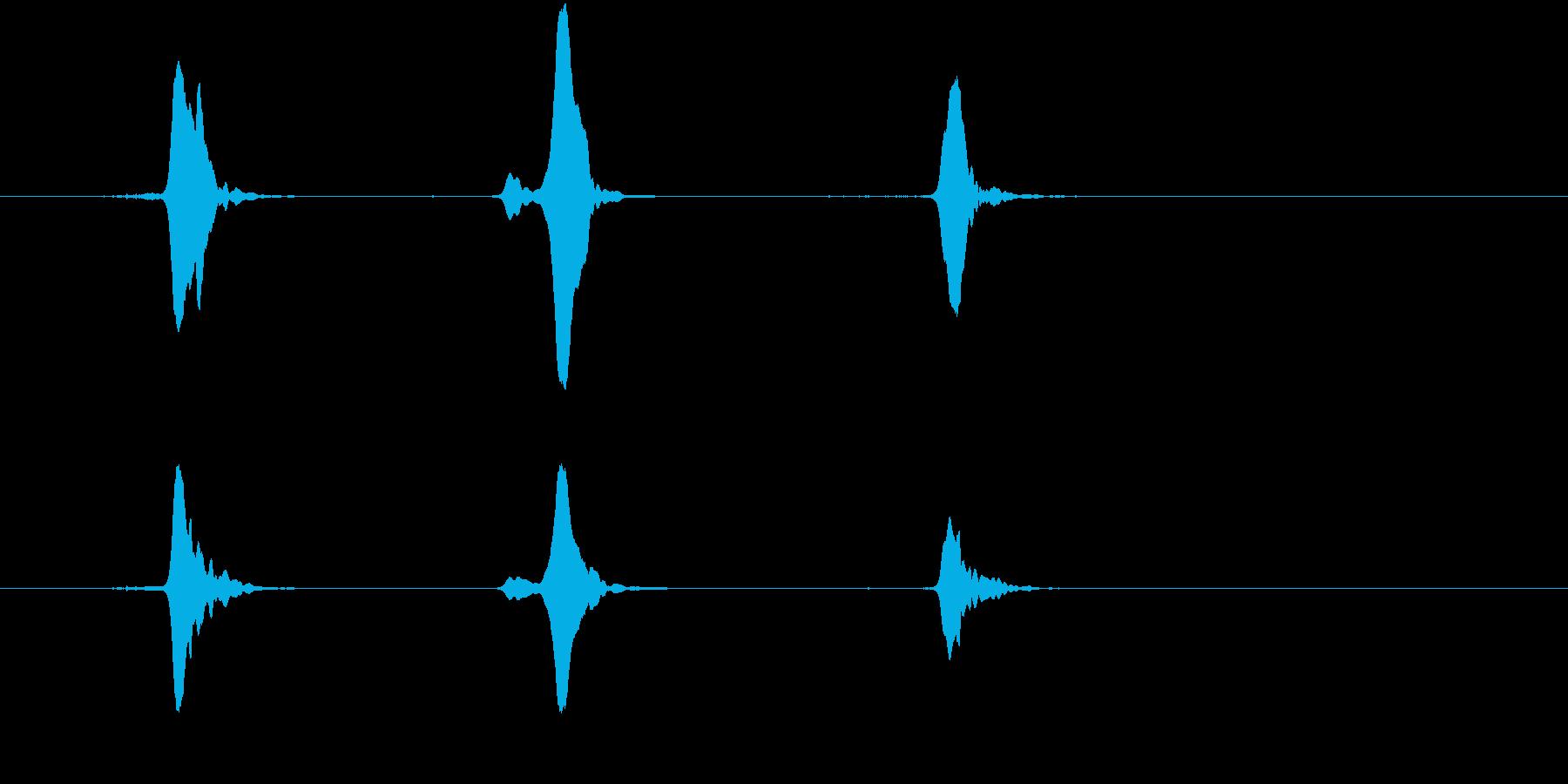 キイキイキイ(蛇口)の再生済みの波形