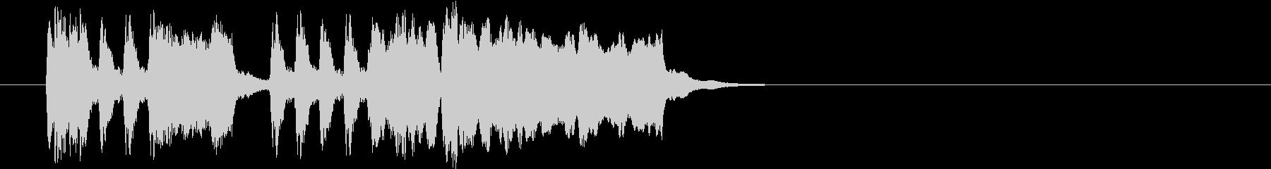 Tpファンファーレ 普通め遅め弾みめの未再生の波形