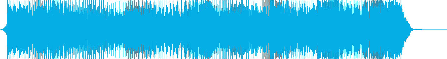 爽やかな番組OP・ニュースやラジオの再生済みの波形