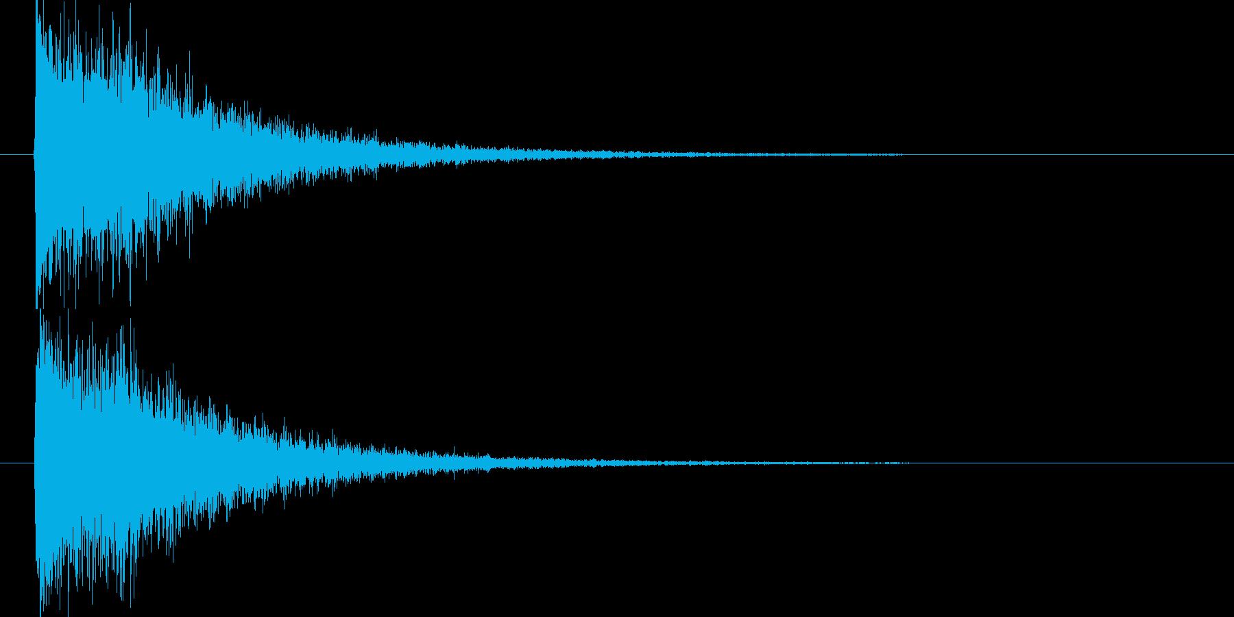 映画告知音59 ドーンの再生済みの波形