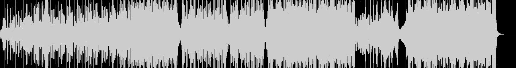 弱肉強食・原始時代イメージのテクノ B2の未再生の波形