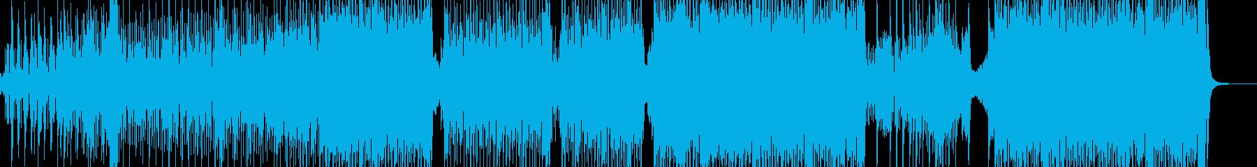 弱肉強食・原始時代イメージのテクノ B2の再生済みの波形